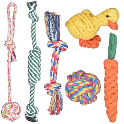 犬用ロープおもちゃ アマゾン