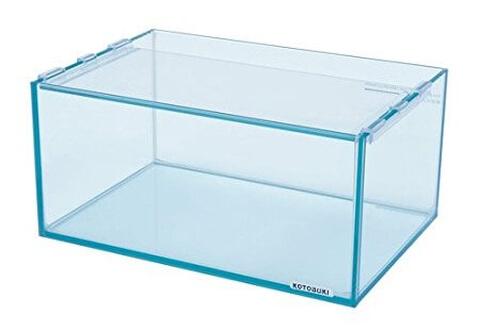 メダカ水槽 ガラス
