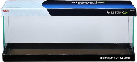 ミドリフグ 水槽 ジェックスグラステリアスリム600