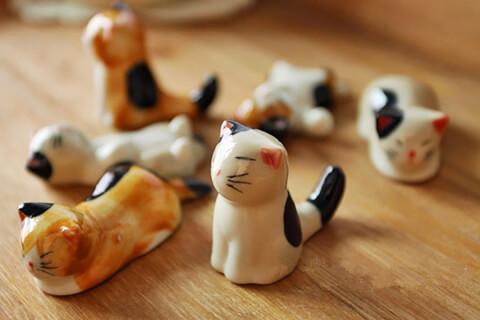 猫雑貨 箸置き