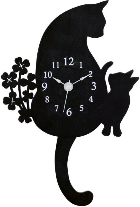 猫雑貨 時計