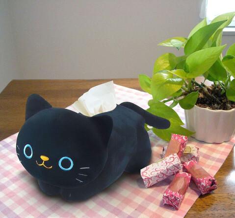 猫雑貨 テッシュケース