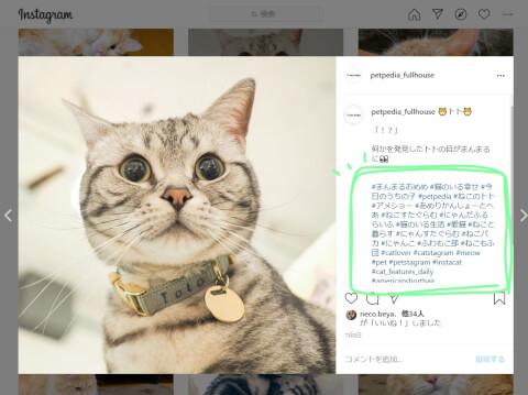 インスタ Instagram ハッシュタグ
