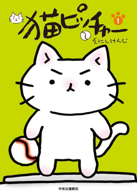 猫ピッチャー