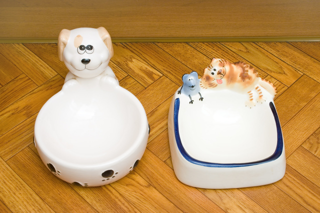 Bowls for dog and cat
