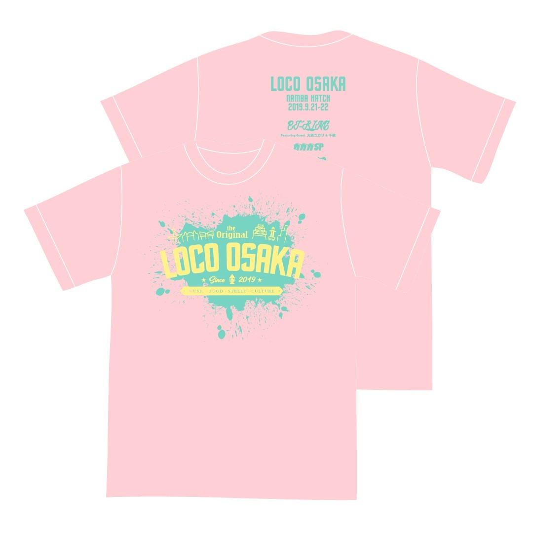 LOCO OSAKA2019 オフィシャル TEE(Pink)