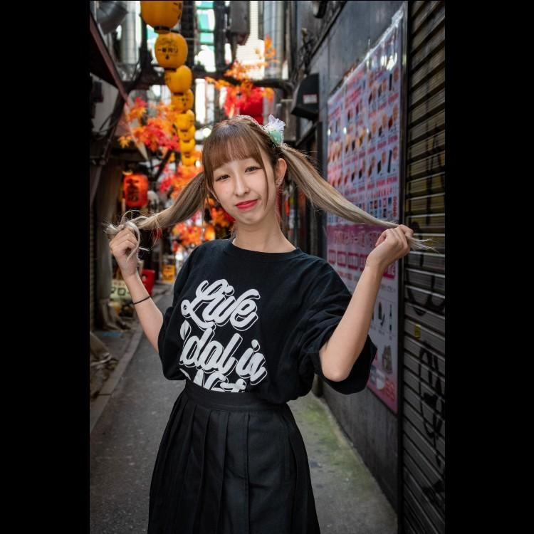 【白花あまね】LIVE IDOL IS NOT DEAD T-shirt