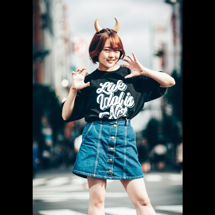 【柑咲円花】LIVE IDOL IS NOT DEAD T-shirt