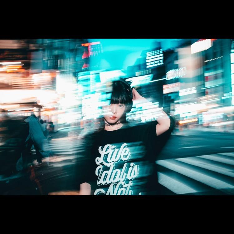 【大澤菜々子】LIVE IDOL IS NOT DEAD T-shirt