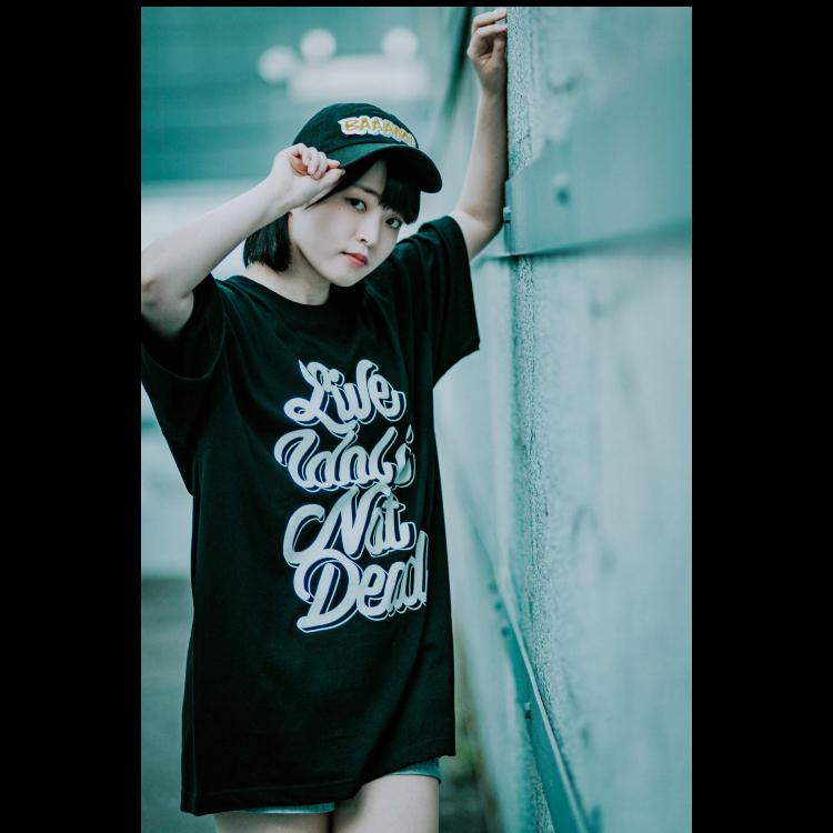 【伊藤奏恵】LIVE IDOL IS NOT DEAD T-shirt