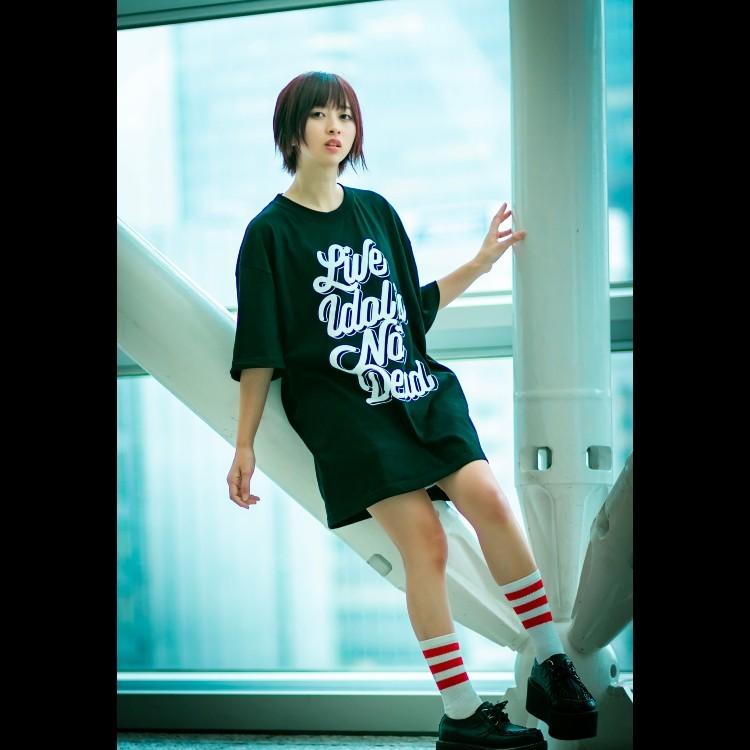 【木乃伊みさと】LIVE IDOL IS NOT DEAD T-shirt