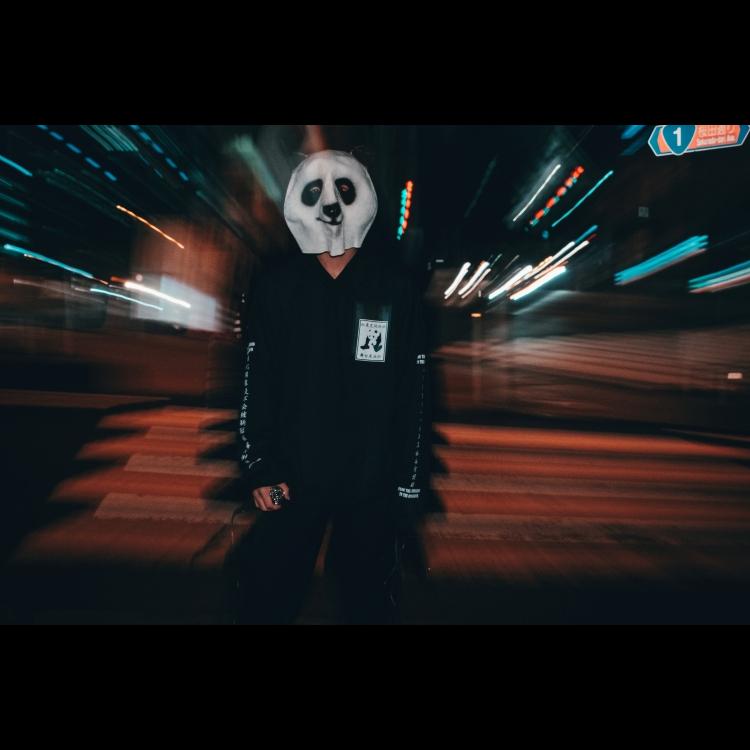 熊猫 パーカー