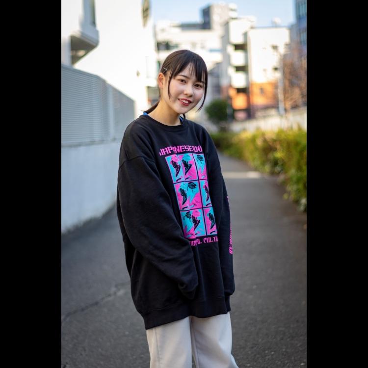 【江蓮花】JAPANESE IDOL トレーナー