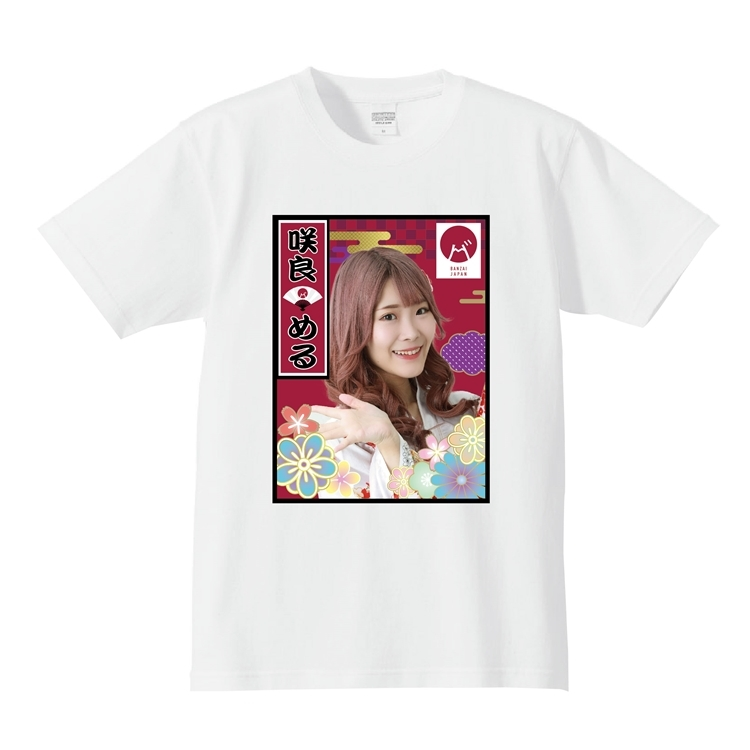 【咲良める】メンバー個別Tシャツ