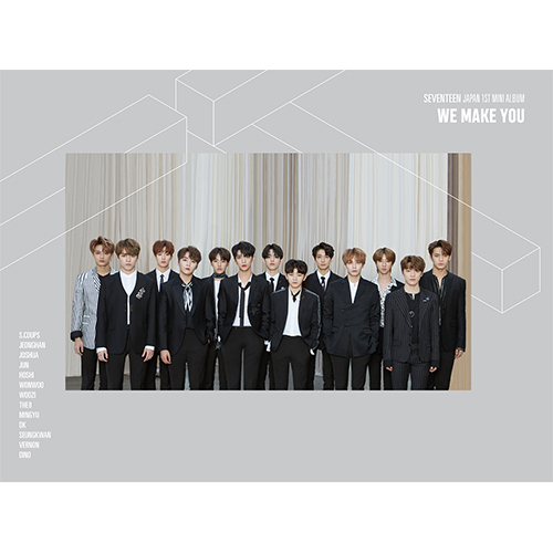 SEVENTEEN JAPAN 1ST MINI ALBUM 「WE MAKE YOU」CARAT盤