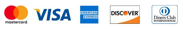VISA/MasterCard/AMERICAN EXPRESS/Diners Club