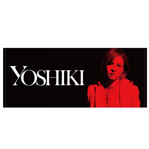 YOSHIKI フェイスタオル