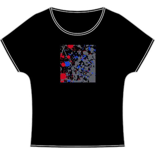 しぶき ドルマン Tシャツ