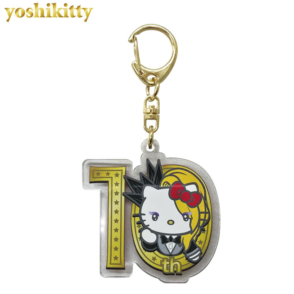 yoshikitty:アクリルキーホルダー・2019・10th