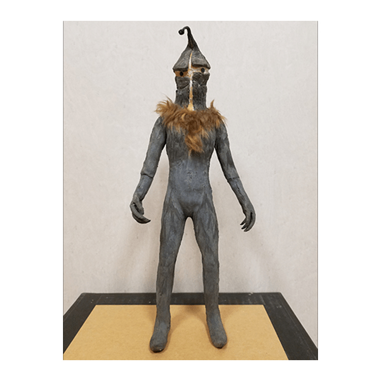 "ULTRAMAN ARCHIVES CLASSIC ARTS ""高山良策作怪獣人形「ケムール人」"""