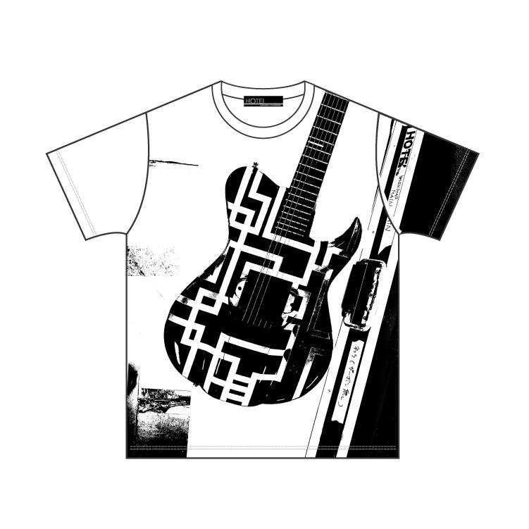 GUITAR TEE (DARKSTAR) ホワイト