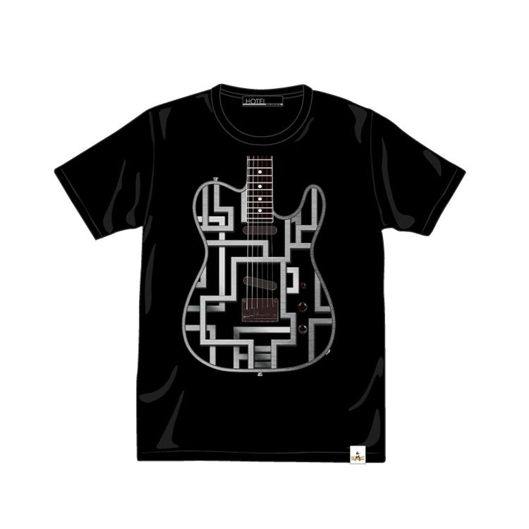 METAL・GUITAR TEE ブラック