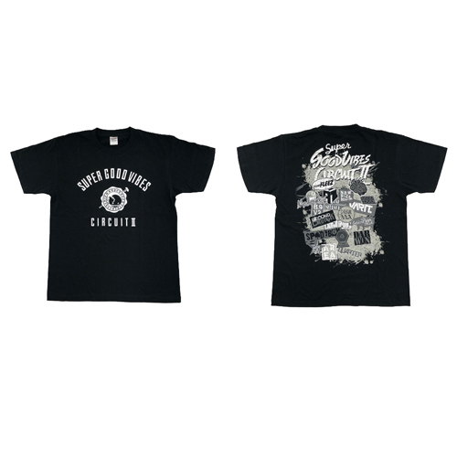 【SUPER Good vibes CIRCUIT ll】T-shirts