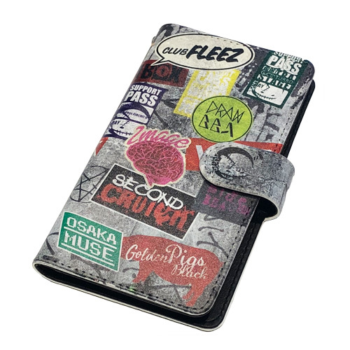 【SUPER Good vibes CIRCUIT ll 】Smartphone case[GRAY]