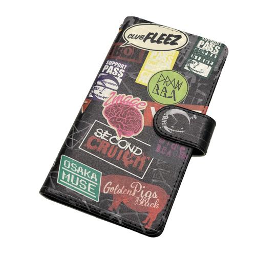 【SUPER Good vibes CIRCUIT ll 】Smartphone case[BLACK]