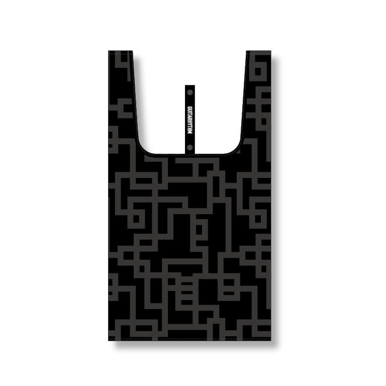 Gエコバッグ ブラック(SUPERMARKET SIZE)