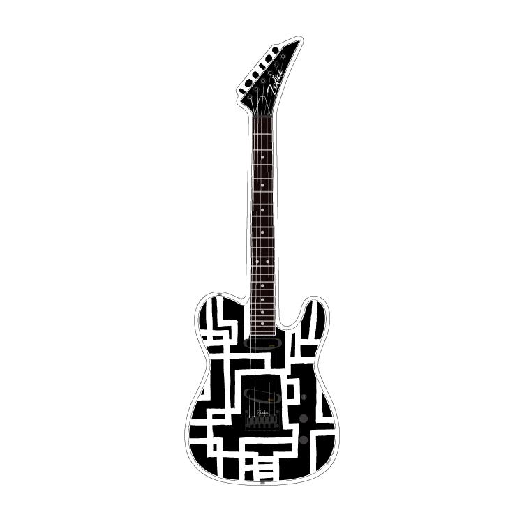 アクリル・ギターフィギュア #1 [ MAIN ]