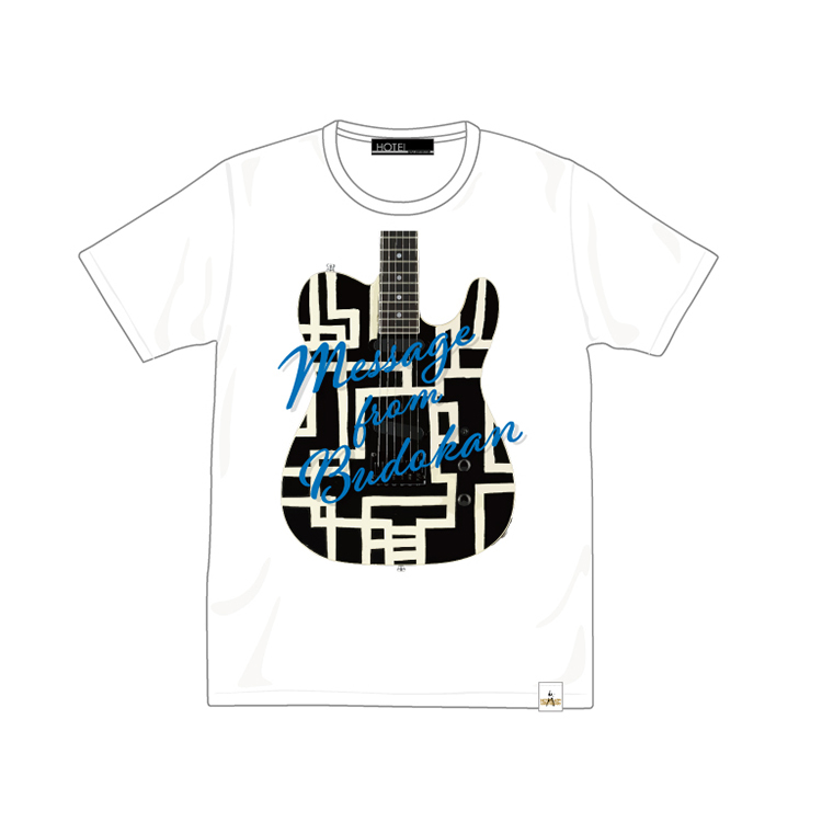MESSAGE・GUITAR TEE ホワイト
