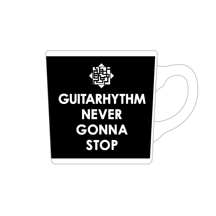 GUITARHYTHM MUG 2021 [BLACK]