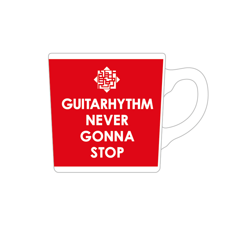 GUITARHYTHM MUG 2021 [RED]