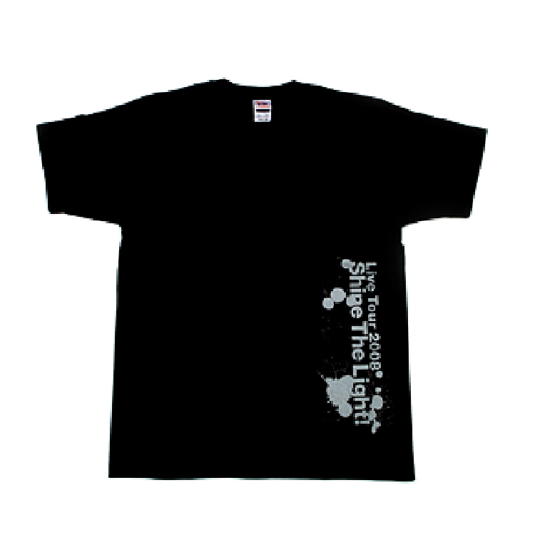 「TETSURO ODA LIVE TOUR 2008 SHINE THE LIGHT!」ツアーTシャツ