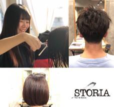 hair&beautySTORIA所属の坂本晶