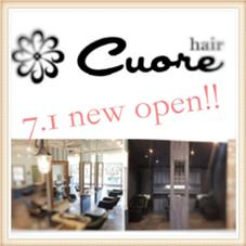 Cuore hair所属の山田信也