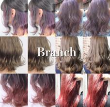 Hair salon Branch所属のカラー指名率No1立石沙季