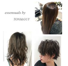 essensuals by TONI&GUY 銀座店所属の根本奈美