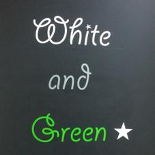 White and Green所属のWhiteand Green