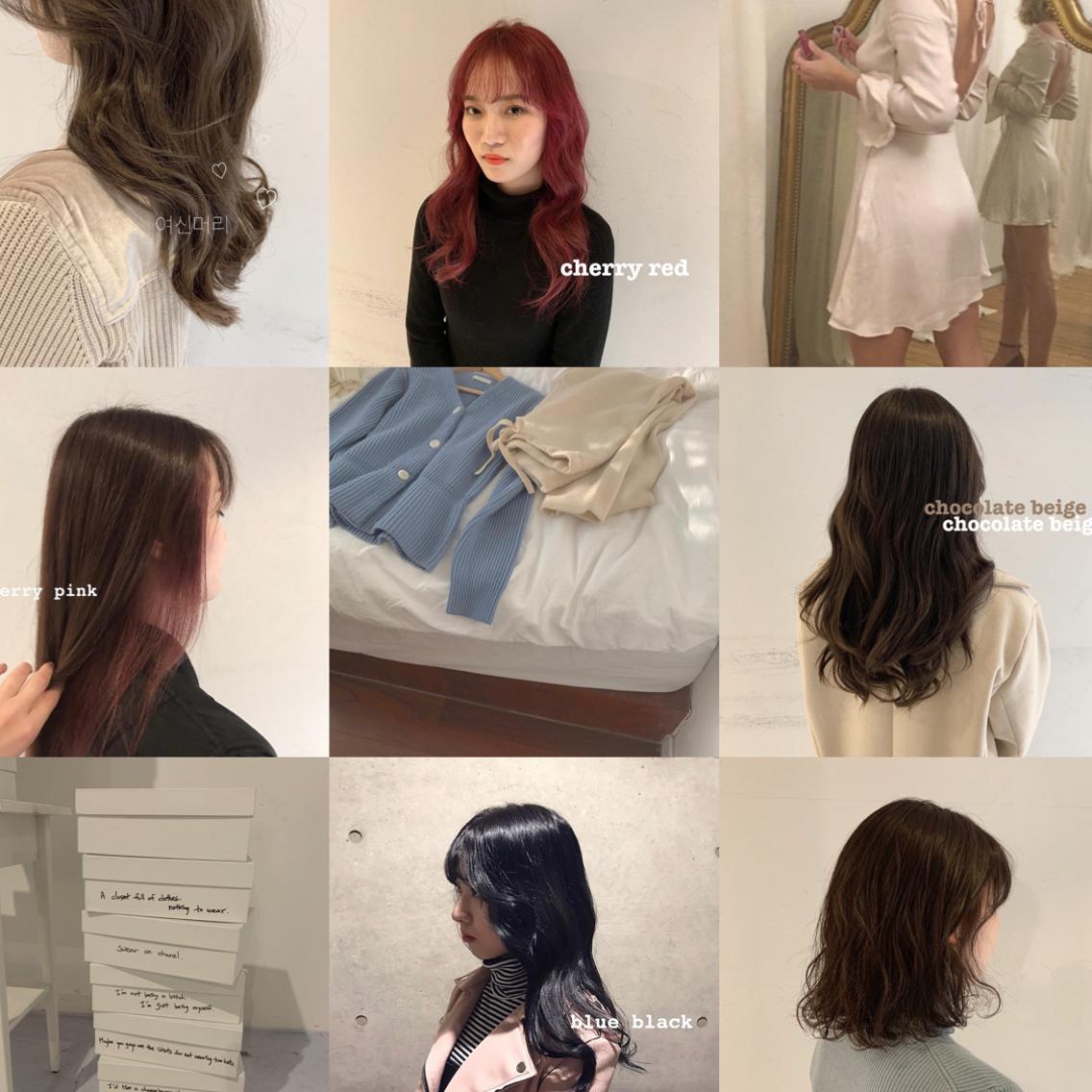 🇰🇷 minimo限定価格 🇰🇷 何度でも同じ価格 color + treatment ¥3240〈 insta @ayatangram 〉#韓国スタイル #オルチャンヘア #韓国