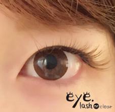 eye lash OF clear 一社店所属の乃万 優子
