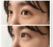 eye lash OF clear 一社店所属のKANBE NAHO