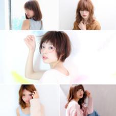 AUBE hair link所属の有賀彩