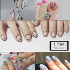 Nail salon time所属のNail salontime