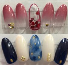 merry nail所属の橋本伶奈