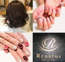 Renatus〜HairofNail〜所属のヘア&ネイルサロンRenatus