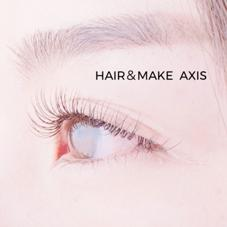 HAIR&MAKEAXIS所属のAXISeyelashes