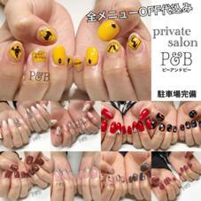P and B所属のpii(ネイリスト)