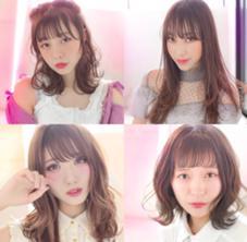代官山所属のhira【透明感カラー前髪】